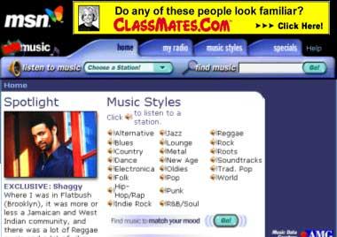 MUSIC  MSN