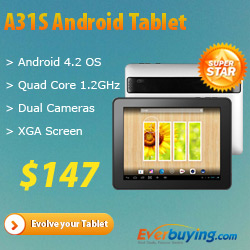 Everbuying Android 4.2 Quad Core Tablet PC