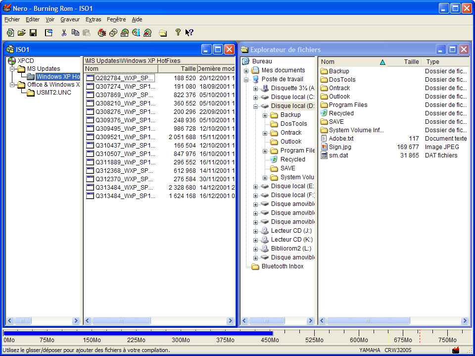 lecteur fichier udf