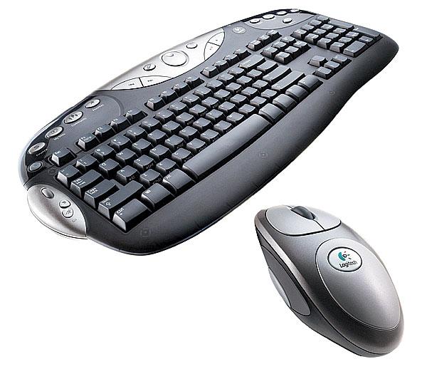 Logitech клавиатура и мышь 2
