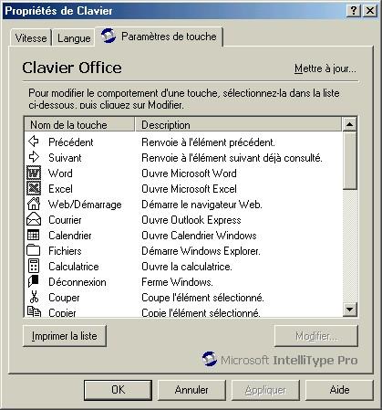 ActiveWin: Microsoft Office Keyboard - Review: Customization