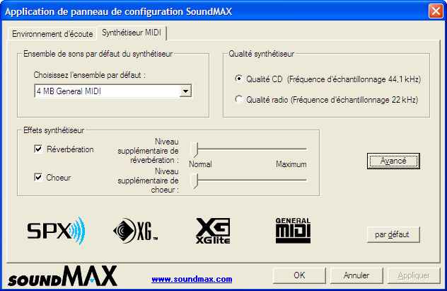 Download SoundMax Drivers for Windows XP