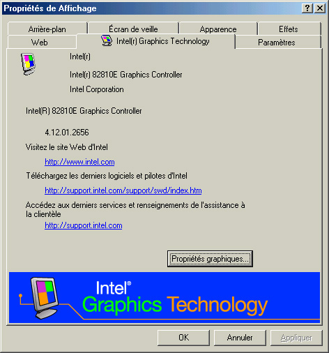 Intel 82810 Graphics Controller Driver