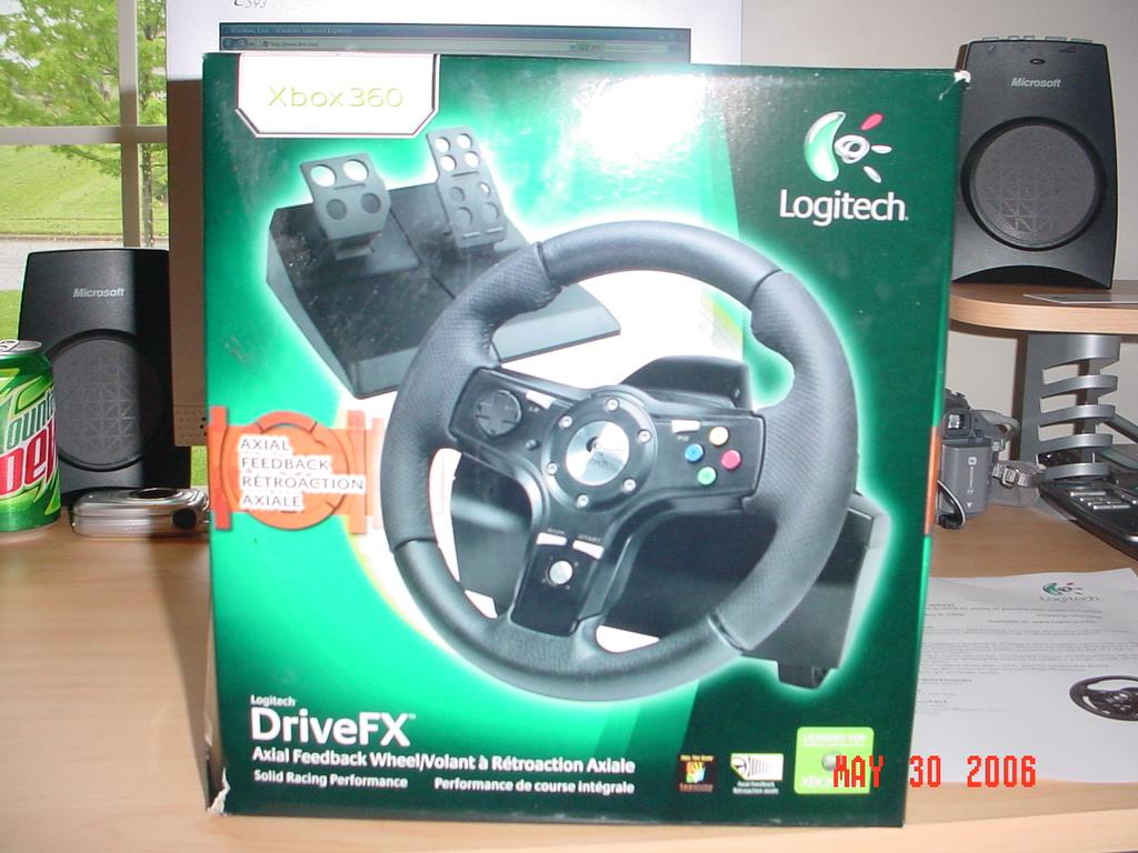Activewin Com Logitech Drivefx Racing Wheel For Xbox 360