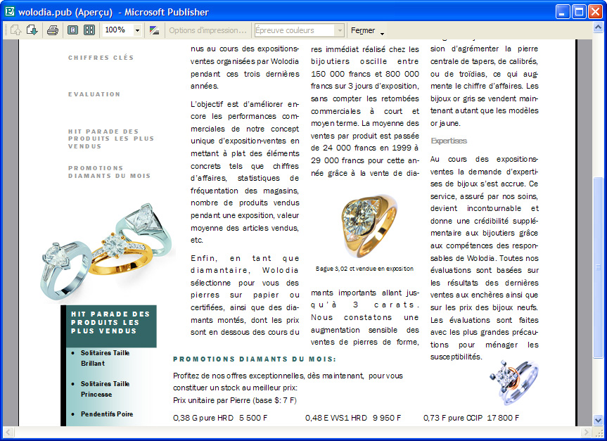 microsoft publisher 2003 review