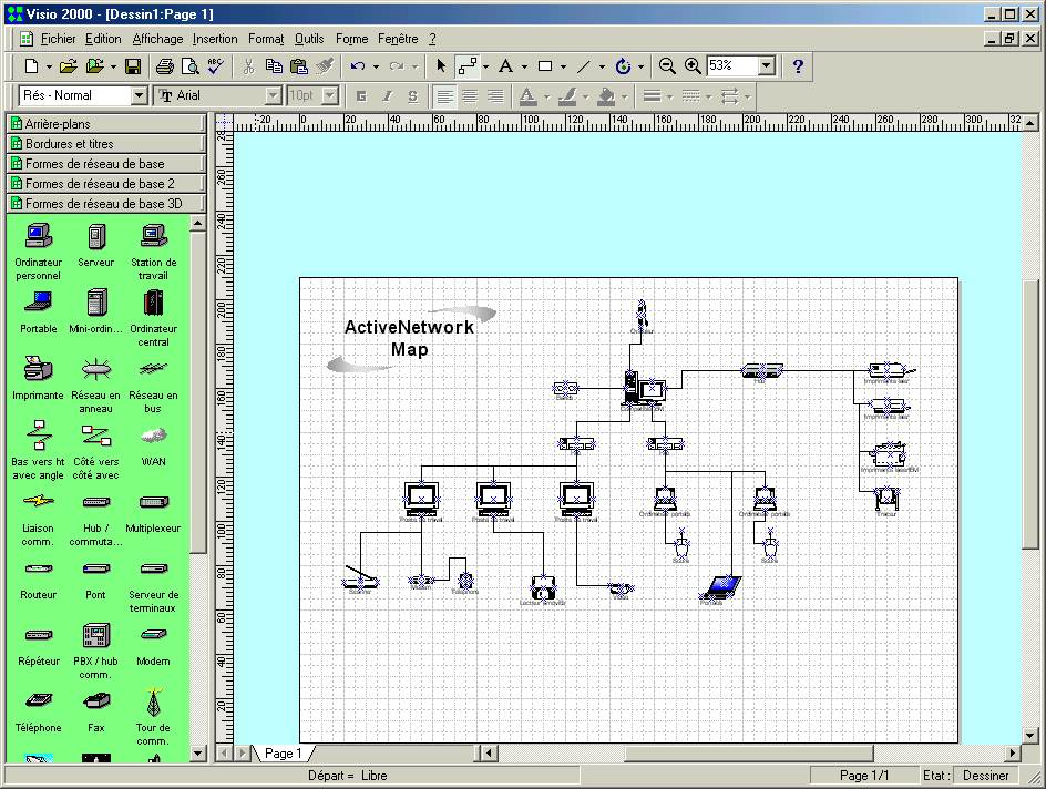 ActiveWin: Microsoft Visio 2000 Professional - Review