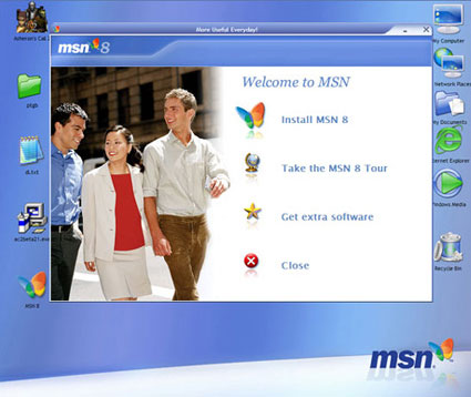 msn wallpaper. Hi i was wondering where I could get the desktop wallpaper from that you used in your review of msn 8 on activewin?