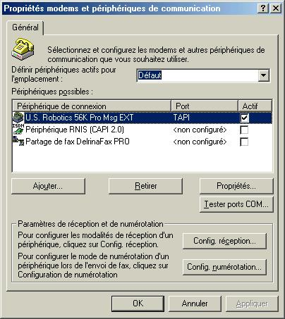 Winfax pro message manager