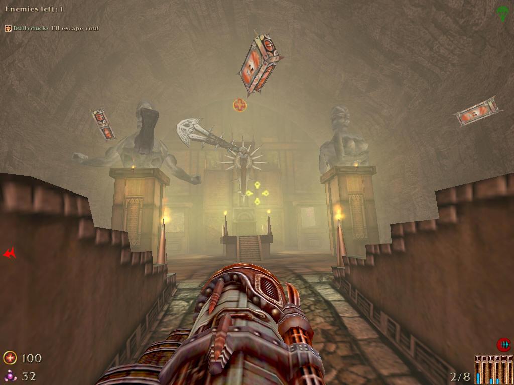Скриншот corridor fly