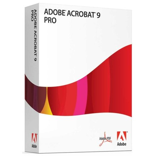 adobe pdf pro 9