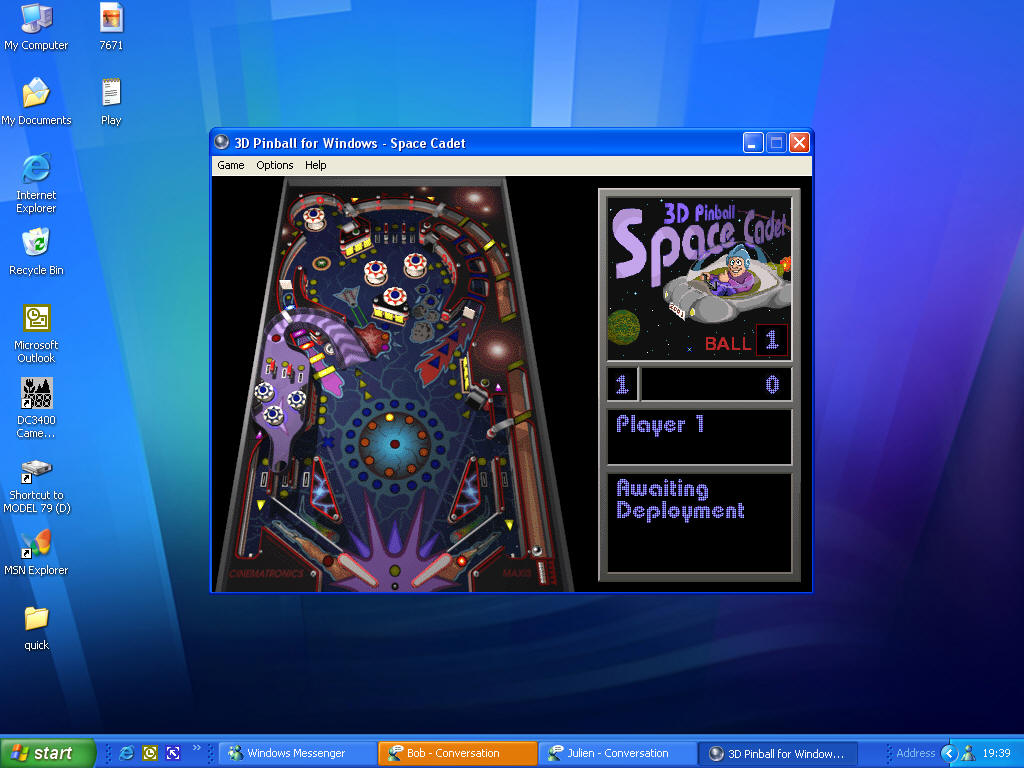windows pinball online