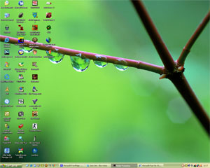 Windows XP Space & Nature Themes_2