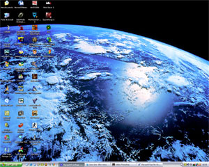 Windows XP Space & Nature Themes_1