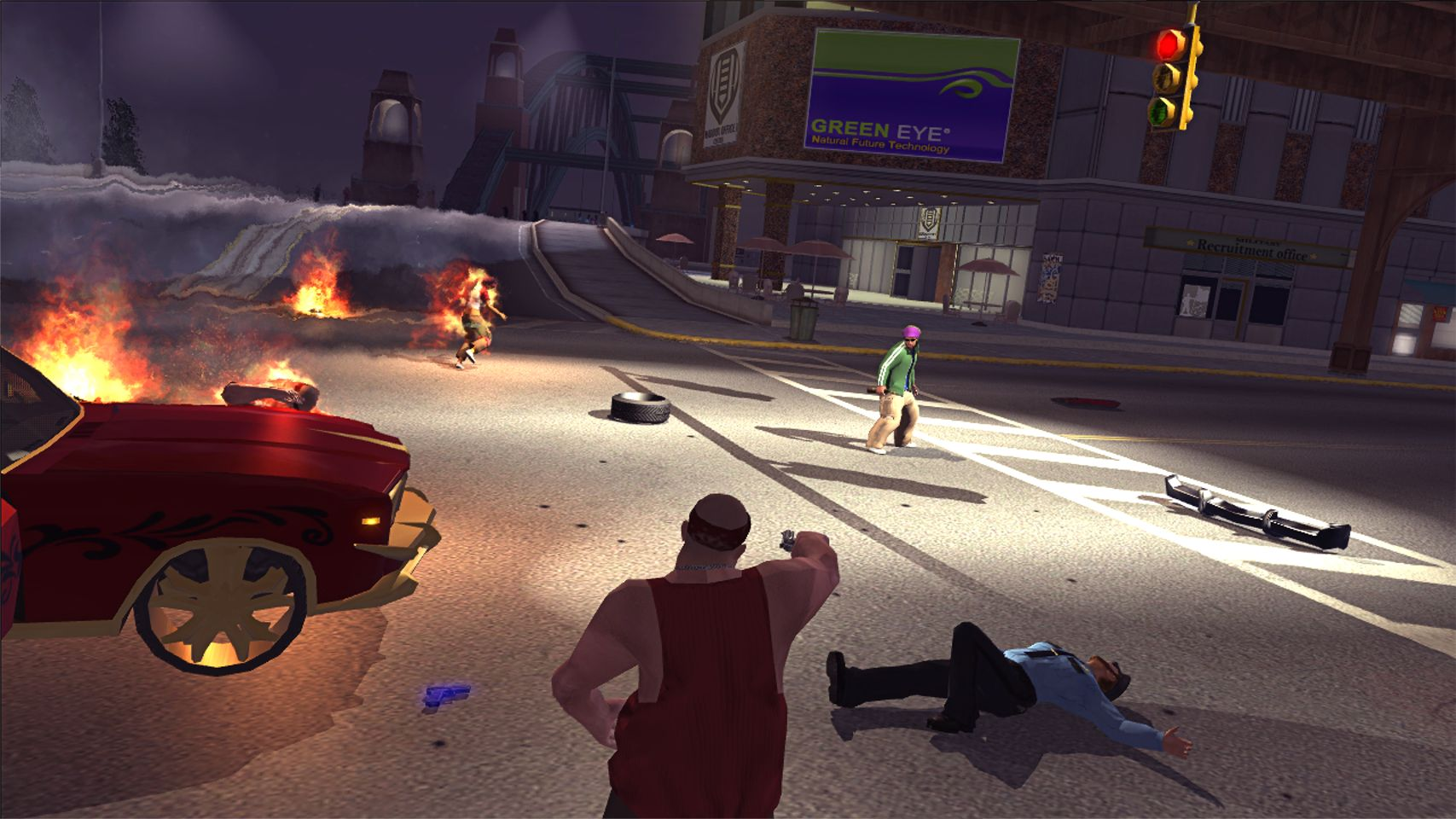 how to get gang notrity saints row 2