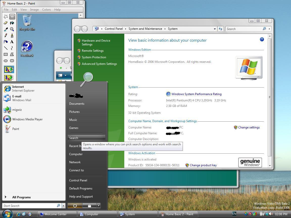 Registry tweak to enable / activate aero glass theme in windows.